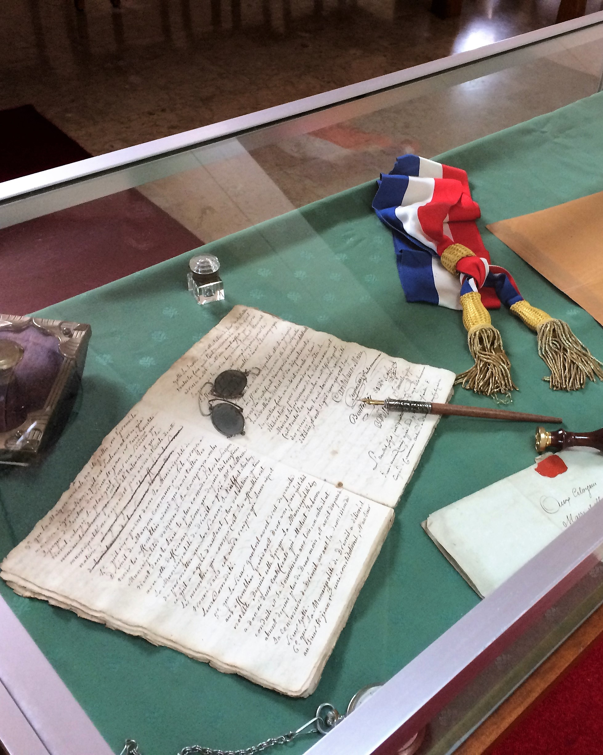 Exposition d'archives municipales